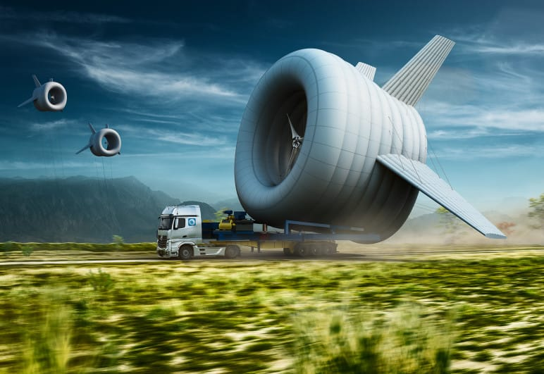 generador eolico aereo